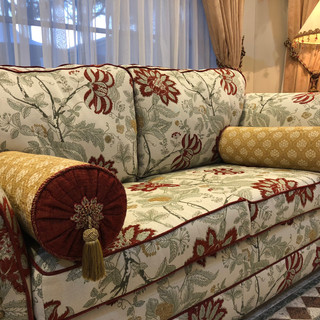 Middle Eastern inspired Living room makeover