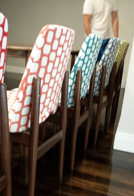 Chair Upholstery - Retro Dining Chairs