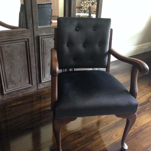 Chair upholstery - Vintage armchair