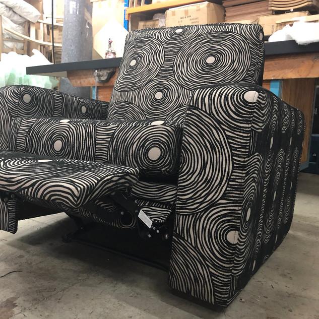 Custom Furniture Sydney - Recliner restored