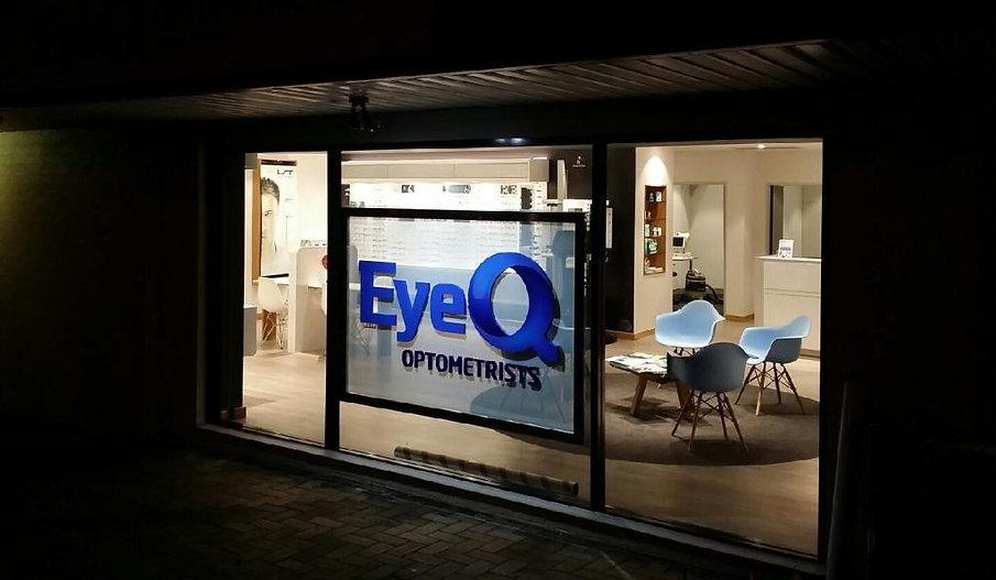 3D Letters shop front sign