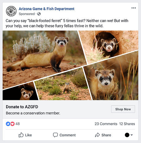 Arizona Game and Fish Facebook