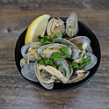 MISO GARLIC STEAMED CLAMS