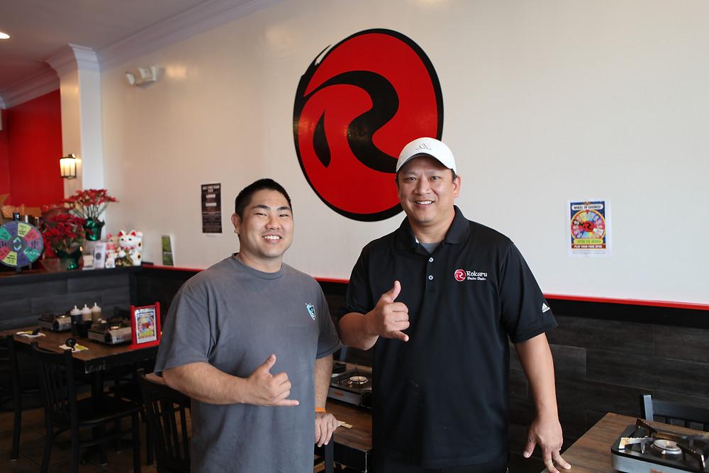 Rokaru Shabu Shabu Owners Reid Watanabe and Mark Ishii