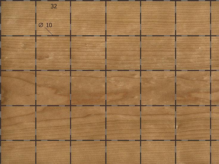 Акустическая панель TAGinterio™ QP1-32-16 бесшовная стыковка (цена m2)
