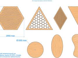 Нестандртные формы панелей