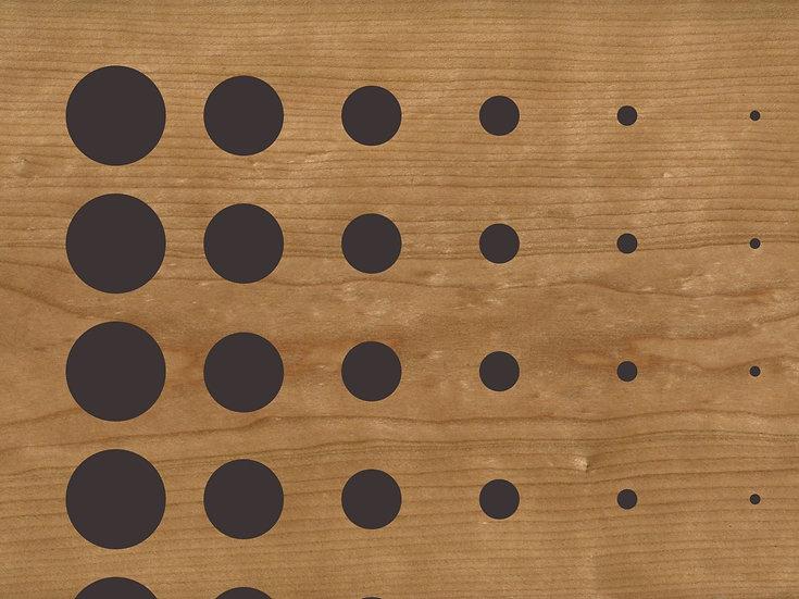 Акустическая панель TAGinterio™ Bubbles2 d5/10/15/20/25/30