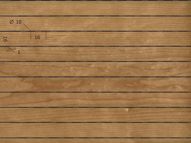 Акустическая панель TAGinterio™ microline LP1-16-16 (15/1) бесшовная стыковка