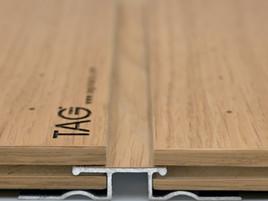 Стык панелей c кромкой step и профилем step