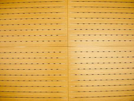 Псевдоакустические панели с редким шагом отверстий 32мм, вместо 16мм!