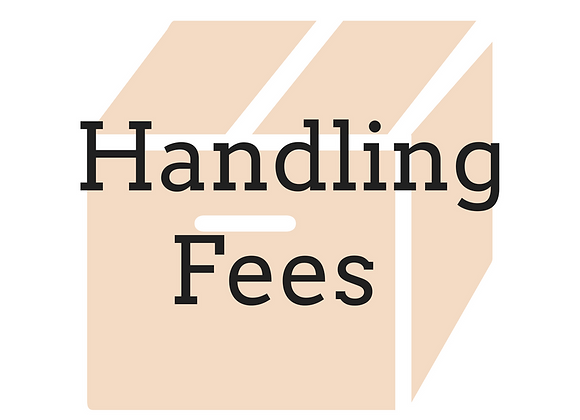 Handling Fee - Single Load