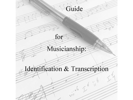 BOOK RELEASE:  Instructor's Guide for Musicianship