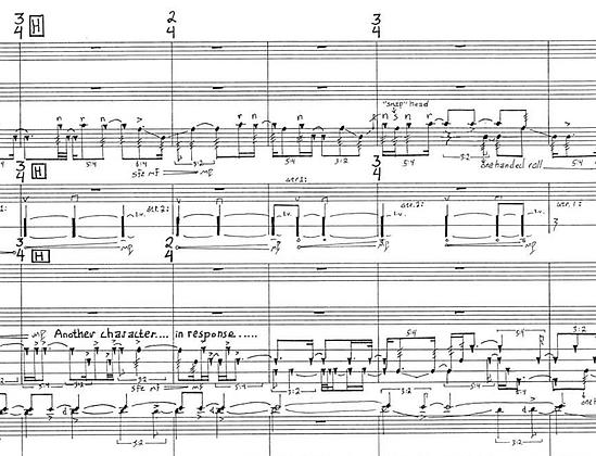 Morpheus (2001) for percussion quartet