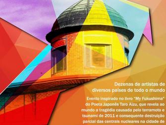ElbregScheeleArt deelnemer nieuwe expositie Minha Fukushima in Olhao te Portugal.