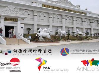 Vervolg internationale expositie Gogyshi Art Project Korea.