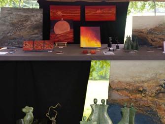 Sfeerimpressie Kunst te Eerbeek zondag 14 september 2014
