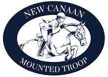New Canaan Mounted Troop Logo