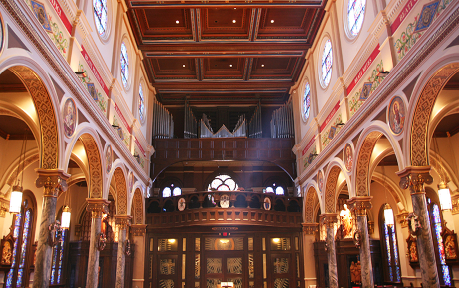 Interior Restoration - Choir Loft