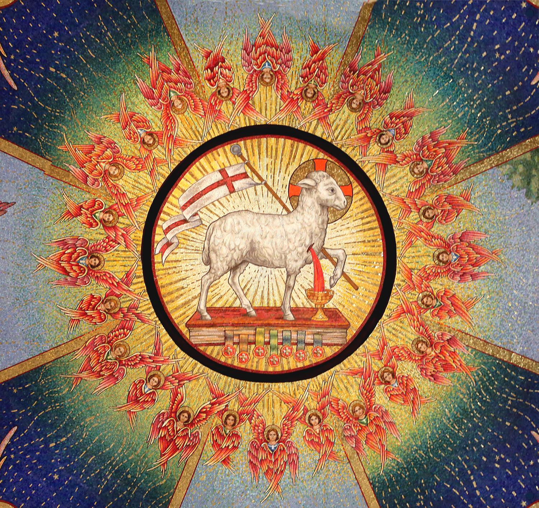 Lamb of God dome detail