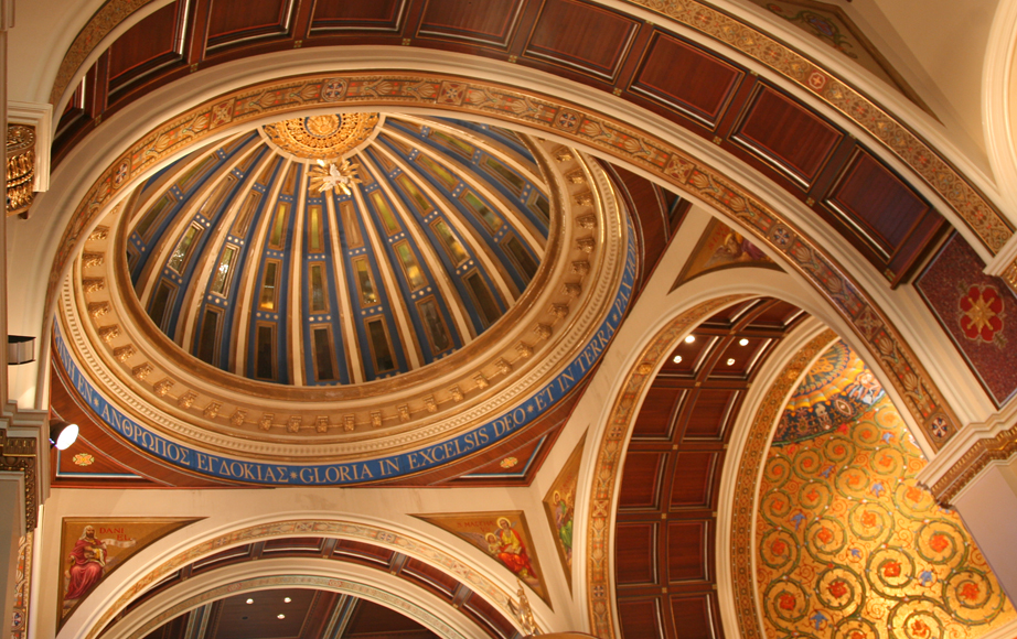 Dome interior restoration