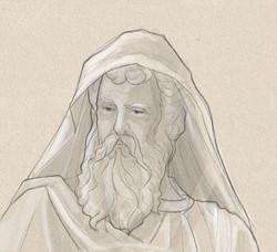St Paul face sketch