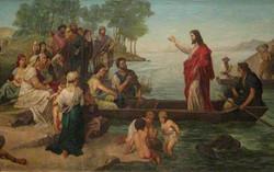 Jesus oil painting on canvas