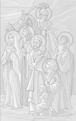 Procession of Saints