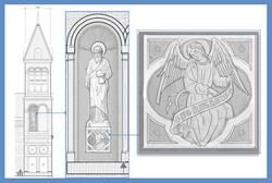 HNC - Statue Detail