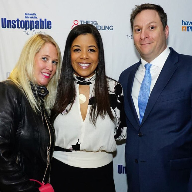 Creator Nefertiti Jones, Manager Jenevieve and Broadway Producer Dan Stone