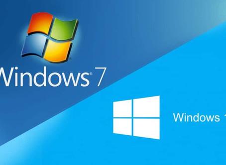 Fin du support Windows 7