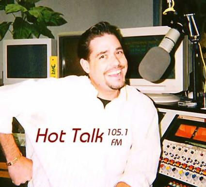 Working at Hot Talk 105.1 FM