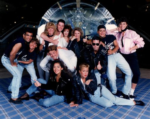 Cruise Staff Rock 'n Roll Night