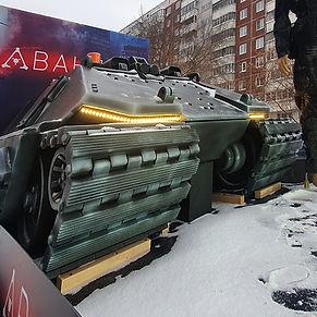 Скульптура танка
