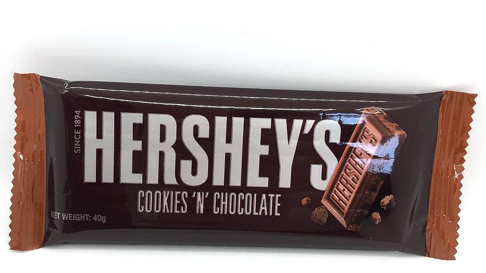 Hershey's chocolate bar - Cookies 'N' Chocolate