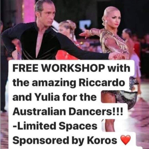 Free Latin Dance Workshop