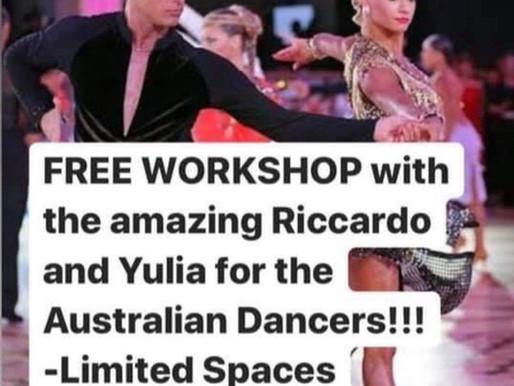 Free Latin Dance Workshop