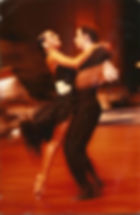 Inga Haas and Paul Killick in competition