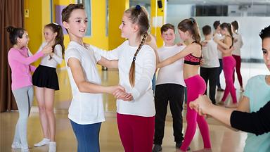Kids Latin dance class