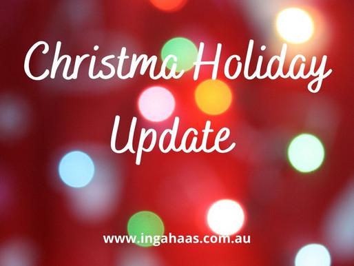 Christmas Season Update