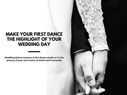 MAKE YOUR FIRST DANCE THE HIGHLIGHT OF YOUR WEDDING DAY