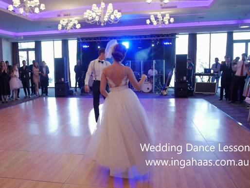 Why consider dance lessons for your wedding dance?