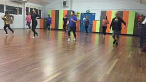 Latin Cardio dance class at South Perth Primary School in South Perth