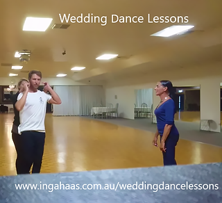wedding dance couple during their lesson
