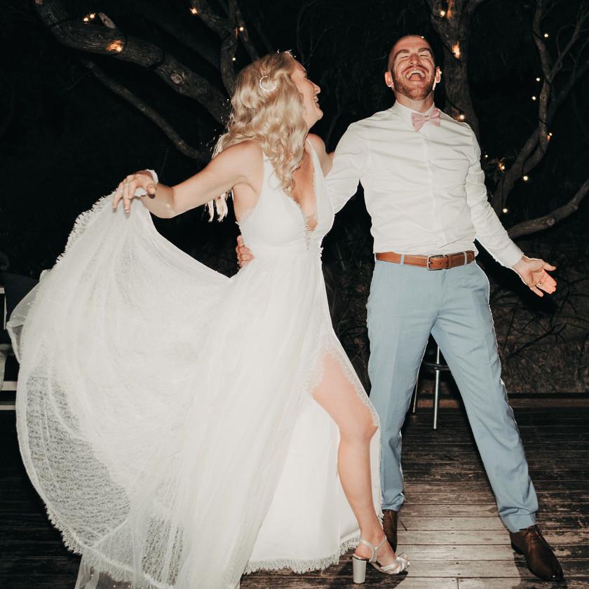Great fun wedding shots