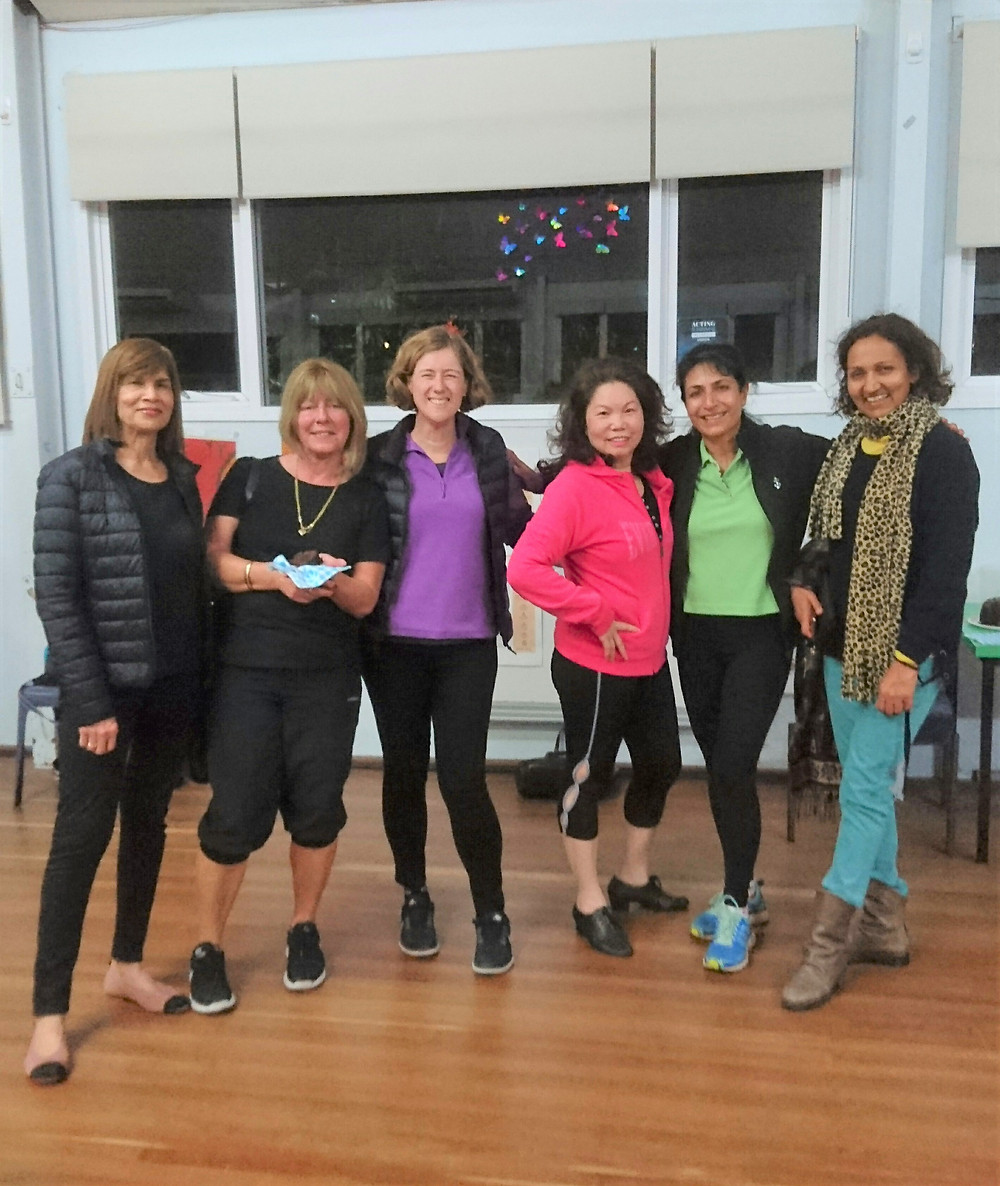 Our Latin Cardio dance class at South Perth Primary School Hall