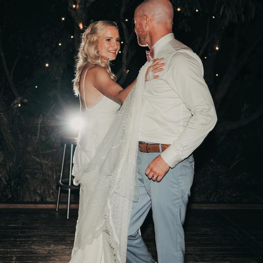 Wedding dance couple from Inga Haas School of Dance