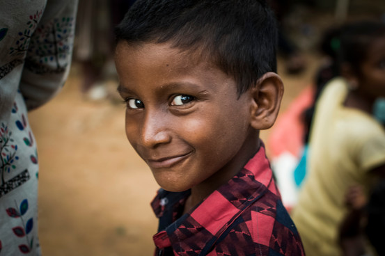 Santosh, 9. Attended a slum school where volunteers teach english and math. A kind of non-formal education. He dropped out along the way.