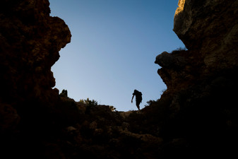 Hiking new paths in Algarve. Portugal, 2018.