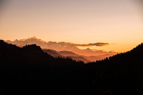 Poon Hill sunrise