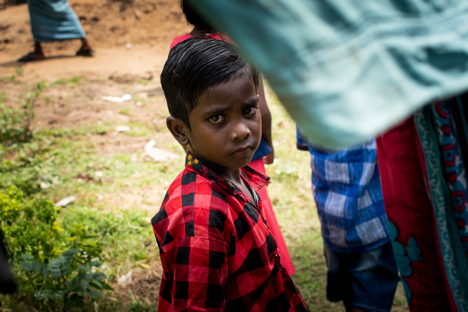 """Guri. Lives in rural area in Rotighar Island, Chillika Lake.  He belongs Dalit cast, or """"untouchables"""", the lowest cast in the system.  Never attended any school."""